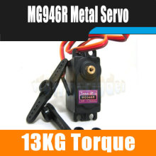 4pcs/lot  MG946R RC Servo  Digital Metal Gear Servo 55g Torque 13Kg Upgraded MG945  For Robot RC Boat Car Airplane Heli