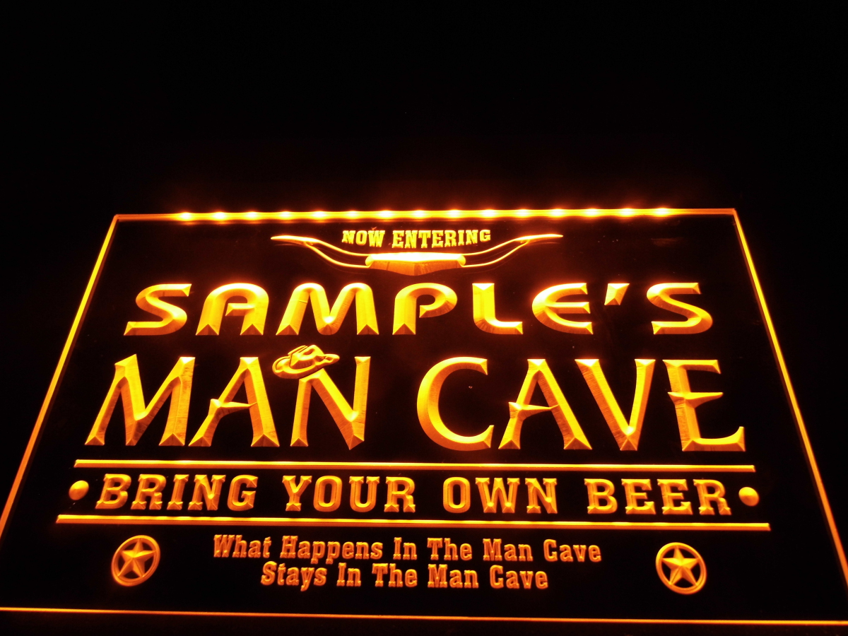 Personalized Man Cave Signs Free Shipping : Online buy wholesale led beer signs from china