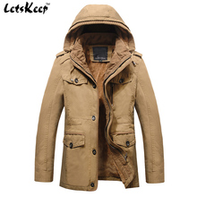 2016 New LetsKeep military jacket men Outerwear tactical hooded jackets mens gold fleece windbreaker coats plus size 6XL,MA233