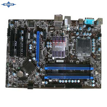 original Used Desktop motherboard For msi P43i support LGA 775 4*DDR3 support 8G 2*SATA2 USB2.0 ATX