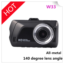 2016 hot-sale carcam W33 HD car DVR manual camera,driver recorder HD car DVR camer(China)