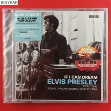 BINYEAE- new seal: If I Can Dream Elvis Presley Australia version CD light disk [free shipping](China)