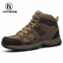 Hifeos women's hiking boots waterproof lady's outdoor sports for climbing breathable mountain boots tactical camping shoes W01A(China)