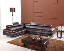 leather corner sofas l shape sofa set designs with bonded leather Brown