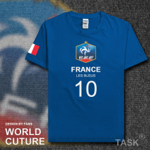 FRA France French national footballer team t shirt men t-shirt jerseys FA brand clothing tshirts streetwear summer 2017 FR tops