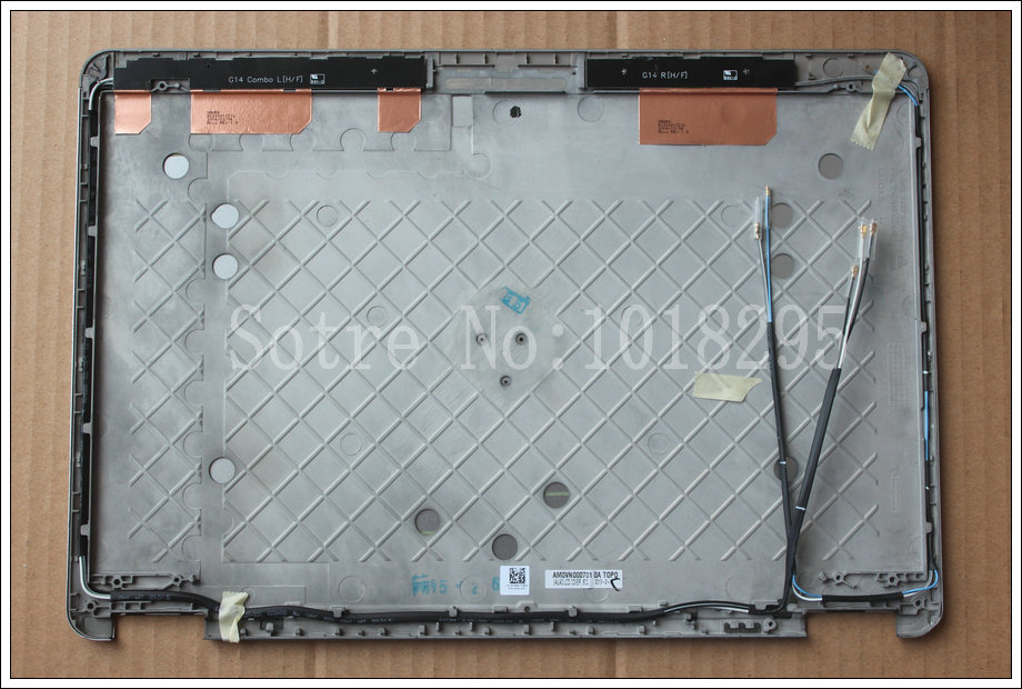 NEW for Dell Latitude E7440 14 LCD Cover Lid Assembly with Hinges 0HV9NN 0G3D2K<br><br>Aliexpress