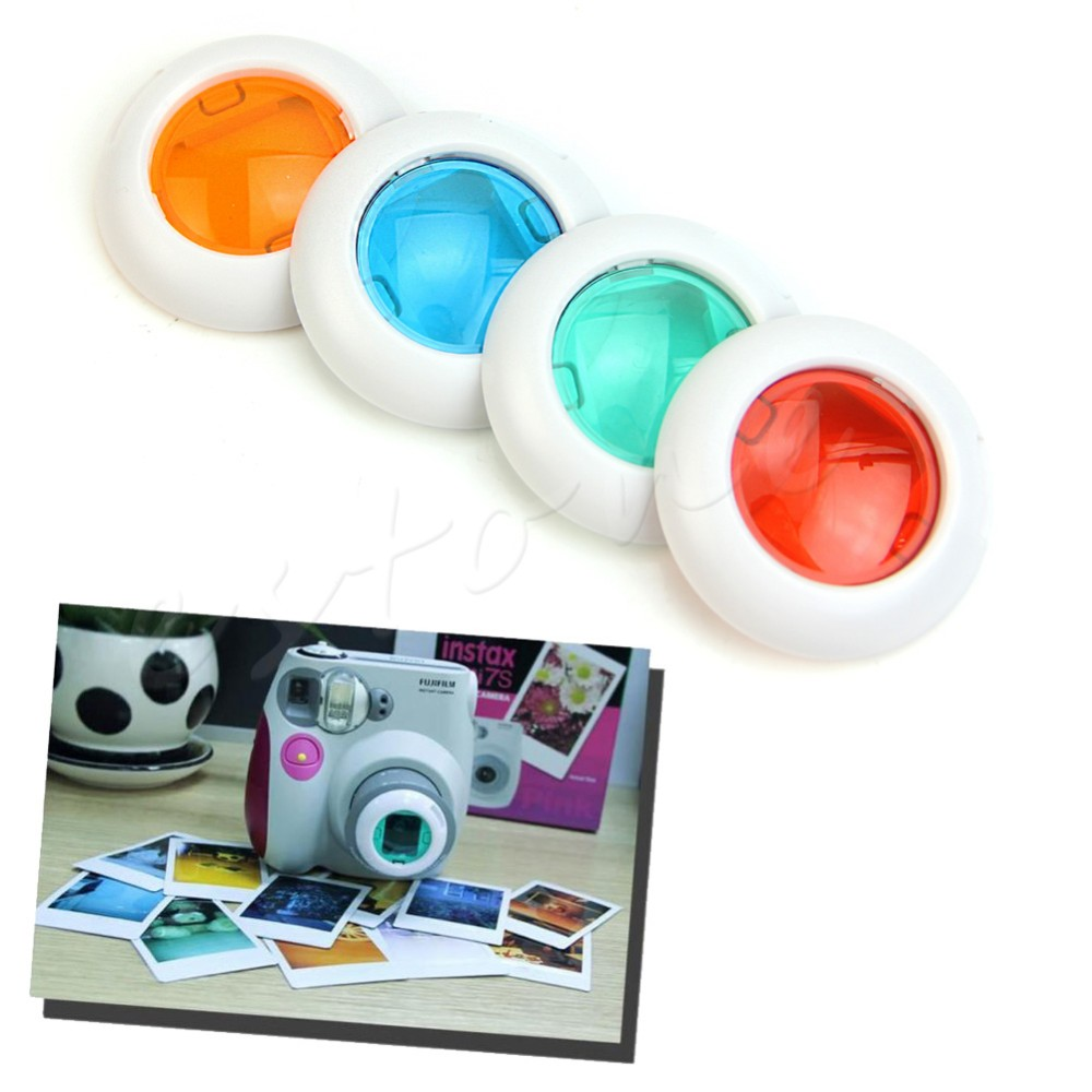 1 PC Useful Filter Close-up Lens For Fujifilm Instax Mini 7s 8 50s Camera 4 Colors