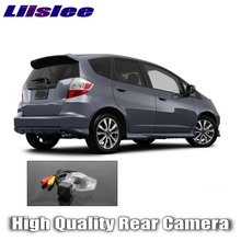 Liislee Car Camera For HONDA fit HONDA Jazz 2002~2013 High Quality Rear View BackUp Camera For Friends Tuning Update | CCD + RCA