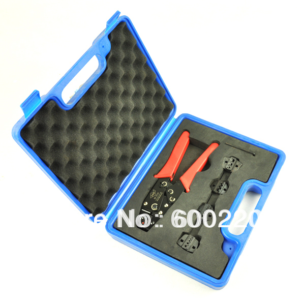 Crimping Tool Kit HS0725-5D1 Crimp Tool Set in plastic box with replaceable crimping die sets<br><br>Aliexpress
