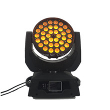 4pcs/lot Touch Screen LED Wash Zoom Moving Head Light 36x15W RGBWA 5IN1 DMX Stage Light Wash Moving Heads(China)