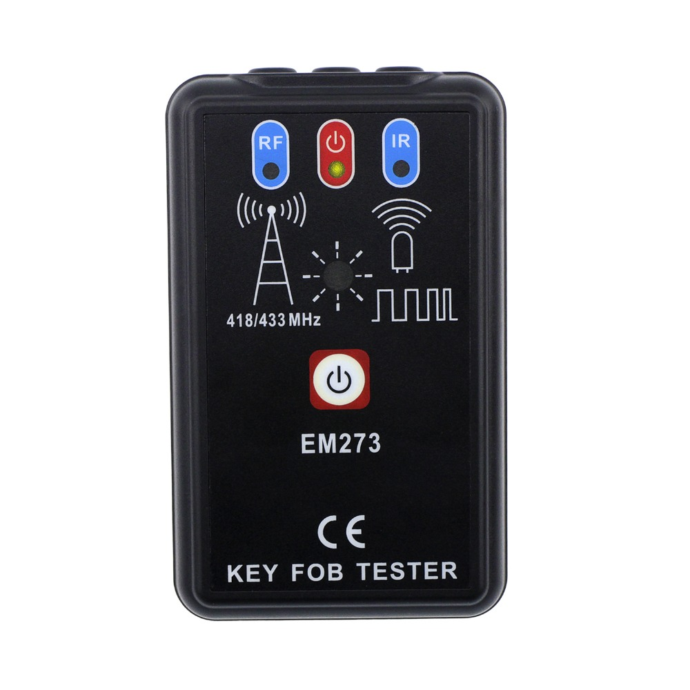 LED Key Fob Frequency Tester Checker Finder Wireless Radio Frequency Remote Control EM273 all-sun<br>