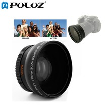 0.45X 52mm Wide Angle Lens with Macro filter for Nikon D40 / D60 / D70s / D3000 / D3100 / D5000 / Canon / Sony 52MM DSLR Camera(China)