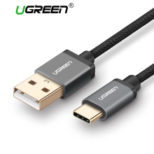 Ugreen Nylon USB Type C Cable for Xiaomi Mi5 Type-c Fast Charger Data Cable for LG Nexus 5X 6P Nokia N1 Xiami 4C OnePlus 2 USB C