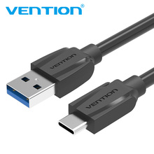 Vention USB 3.0 USB Type-C 3.1 Data Cable USB C Data Cable Fast Charger Cable for Xiaomi OnePlus 2 Nexus 6P 5X ZUK Z1 Z2 Mabook(China)
