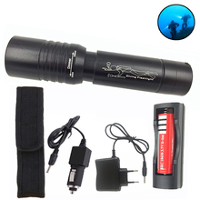 Diving LED light Scuba Flashlight Dive Light Torch Cree LED XM-T6 Underwater Waterproof Lamp lanterna Rechargeable 18650 Charger