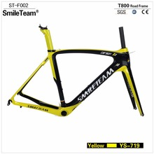 SmileTeam 700C Road Carbon Bike Frame,China Factory OEM Full carbon Road Bike Frame ,Road Carbon frame with 2 Year warranty(China)