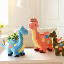 Super Cute Tanystropheus Long-necked Dinosaur Plush Toys Dolls Kids Baby Friends Gift Green Blue Pink Color 45cm