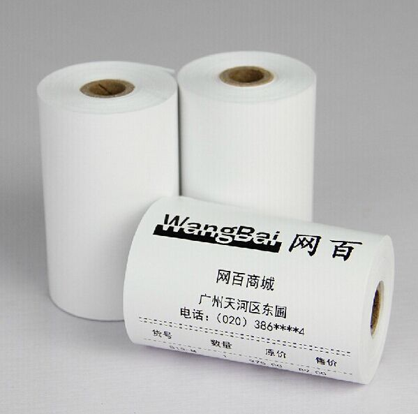 High quality 80mm * 50 mm thermal paper Supermarket cashier paper for 80mm Thermal printer<br><br>Aliexpress
