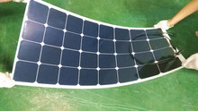 Multi-purpose power generation, imports of US battery, the manufacture of 100w semi-flexible solar panels(China)