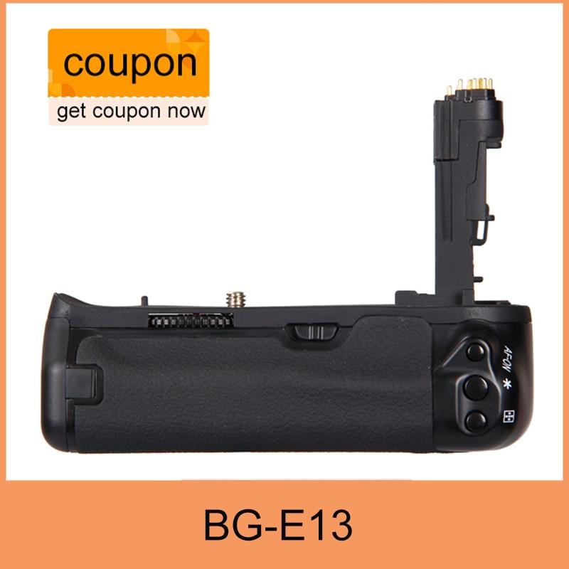 Free Shipping BG-E13 Battery Grip for Canon BG E13 EOS 6D DSLR Camera as LP-E6<br>