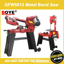 "High Quality!/GFW5012 Metal Band Saw/4.5"" Woodworking Saw Machine/BOYE brand sawing Machine/Powerful metal saw lathe"
