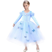 Aurora Girls Sleeping Beauty Princess Dress Kids Cosplay Sophia Baby Girl Snow White Dress Children Sofia Party Dresses Costume