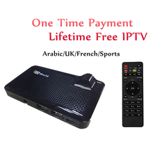 GOTiT HDWorld F6S DVB-S2 Satellite Receiver Receptor Lifetime Free Arabic French Indian IPTV Subscription Be1n O5n Cana1+ Ski UK