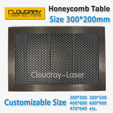 Honeycomb Working Table 300*200 mm Customizable Size Board Platform Laser Parts  for CO2 Laser Engraver Cutting Machine