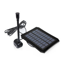 Aquarium Solar Panel Fountain Pump with Battery LED Lamp Water Spray Oxygen Pump for Garden Patio Fish Pond Pool Water Circulate(China)