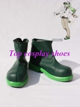 Freeshipping anime Ash Ketchum Cosplay Boots shoes Generation Green custom-made Hand made #GAI045 shoes(China)
