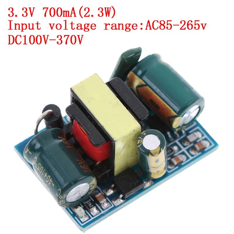 1pc 110V/220V To 3.3V 700mA 2.3W AC-DC Power Supply Converter Step Down Module 3*2*1.8cm