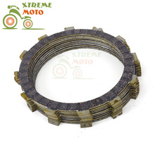 Motorcycle Clutch Disc Friction Plates Set 9pcs for BMW F700GS 2013-2015 F800GS 2011-2016 F800GT 2013-2016 F800R 2009-2016(China)
