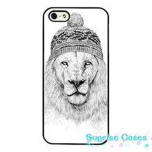 Lion Art Sketch Funny Banksy Style cellphone Case Cover for iphone 4 5s 5c SE 6 6s 6plus 7 7plus Samsung galaxy s4 s5 s6 s7 edge