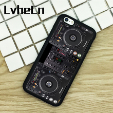 LvheCn TPU Phone Cases For iPhone 6 6S 7 8 Plus X 5 5S 5C SE 4 4S ipod touch 4 5 6 Cover DJ Controller Deck Player(China)
