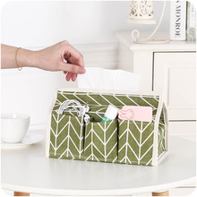 Cotton Tissue Boxes Fashion Paper Pumping Storage Box Container For Remote Control Mobile Phone More Office Home