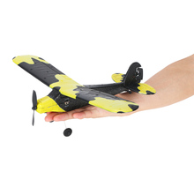 Techboy TB-366 2.4G 2CH Remote Control RC Airplane 345mm Wingspan EPP Glider Mini Drone Plane Aircraft Fly Toys For Children(China)