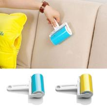 Hot New Lint Roller Washable Dust Pet Hair Fluff Remover Sticky Reusable Cloth Cleaning Clothes Brush quita pelusas Cheap z1