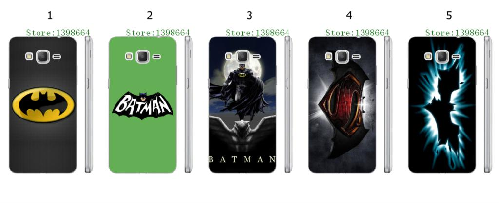 Online-custom BATMAN hot hard plastic back cover case for Samsung Galaxy Grand Prime G530 G530H G5308W Free Shipping