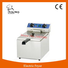 KOUWO Automatic Commercial Stainless Steel Electric Deep Fryer(KW-EF131)(China)