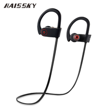 HAISSKY S8 Bluetooth 4.1 Wireless Earphones Sport Headphone Headset Stereo with Mic For iPhone 6 6s 7 Samsung S8 Xiaomi Mi6