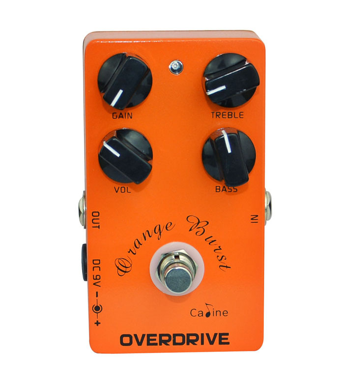 NEW Overdrive Guitar Pedal Caline CP-18 Pre AMP Pedal Orange For Electric Guitar free shipping<br>