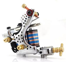 Professional Handmade Tattoo Gun High Quality Colorful Coils Machine Beginner Artist For liner