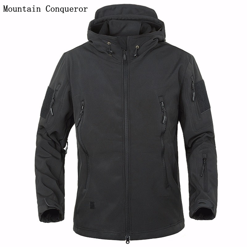 Mountain Conqueror Army Camouflage Coat Military J...