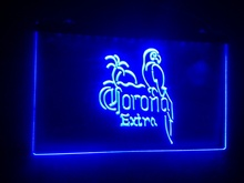 b40 Corona Beer OPEN Bar Pub Club LED Neon Light Signs(China)