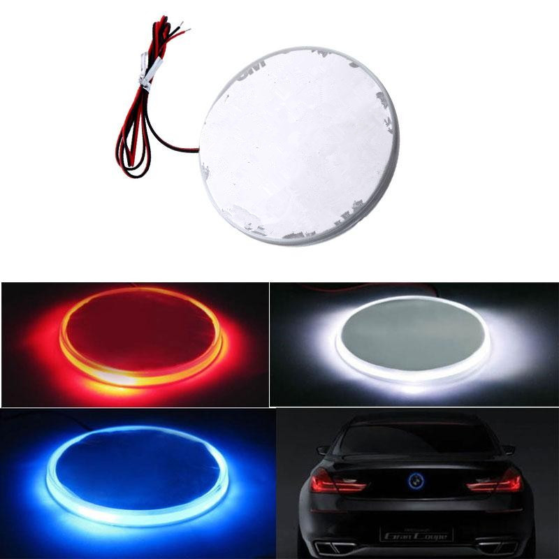 82mm Blue Emblem LED Background Light For BMW 3 Series Car-Styling Car Light(China (Mainland))