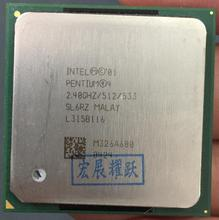 Intel Pentium 4 2.4GHz P4 2.4G Socket 478 512M 533 SL6RZ specifications P4 2.4(China)