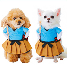 Buy Pet Dog Cat Costume Suit Clothes Funny Dress Clothing Party Christmas Clothes Transfiguration Pet Cat Dog Halloween Cosplay for $10.00 in AliExpress store