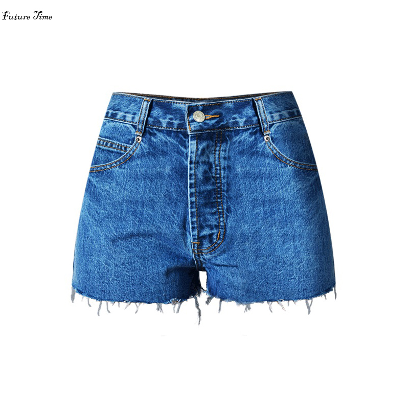 2017 New women jeans high waist ripped washed jeans shorts sexy push up hip bottoms plus size streetwear women short jeans C1073Одежда и ак�е��уары<br><br><br>Aliexpress