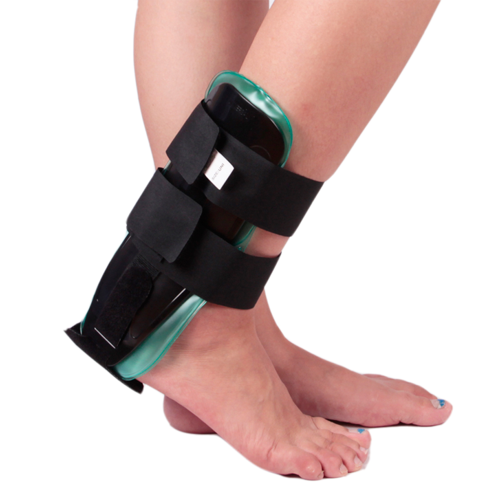 Air/Gel Ankle Brace For Ankle Sprain With Hot Compress And Ice Compress Gel Foot Orthosis Healthcare Orthopaedics Ankle Supports<br>