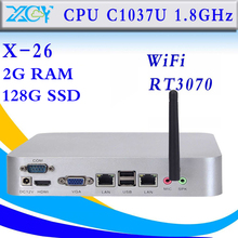 facrory competitive price Celeron C1037U Mini PC Industrial small computers installed computer host Best Rated Desktop Computer(China)